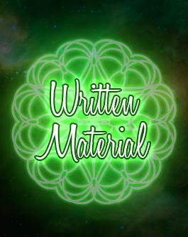 Written Materials